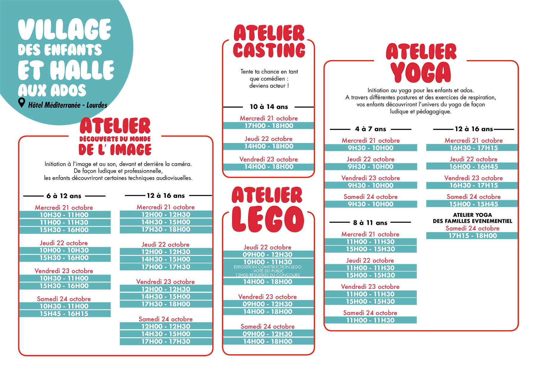 Programme Villages & Animations